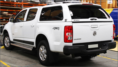 second hand holden colorado gses canopy