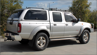 second hand ute canopy for Nissan Navara D22